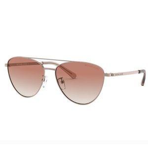 Michel Kors Barcelona 58mm pilot sunglasses